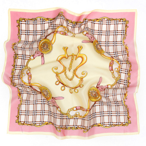Women Printing Pure 100% Silk Scarves