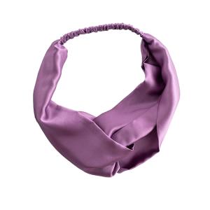 Elastic 19mm 100 Pure Silk Satin Headband