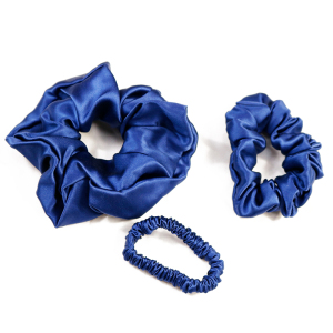 Hot Sale Plain Women Silk Hair Accessories Pack Scrunchy Hair Ties Rope Scrunchies For Hair