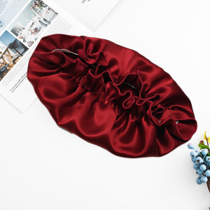 Luxury 30 Momme Mulberry Silk Bonnets For Sleeping