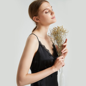 19 Momme 100% Pure Mulberry Silk Nightgowns
