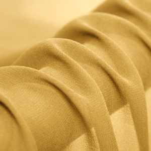 100% Pure Georgette Silk Fabric For Women Dress