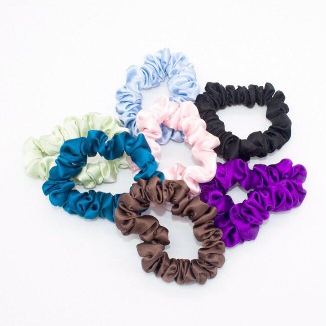 16 Momme Silk Hair Scrunchies- 2cm Width