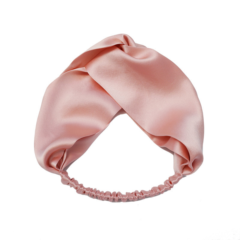 Head Wraps Pure Silk Headband For Women