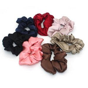 16 Momme Silk Hair Scrunchies- 4cm Width