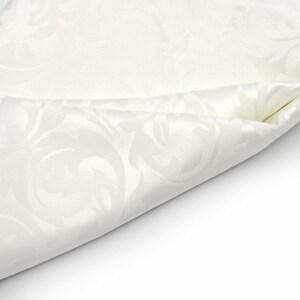 114cm Width 100% Mulberry Silk Jacquard Fabric