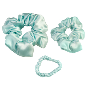 Simple Fashion Soft Fabric Silk Hair Scrunchies 100% Pure Silk Hair Ties