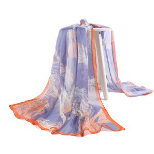 Fashion Spring Fancy Long Silk Chiffon Scarf