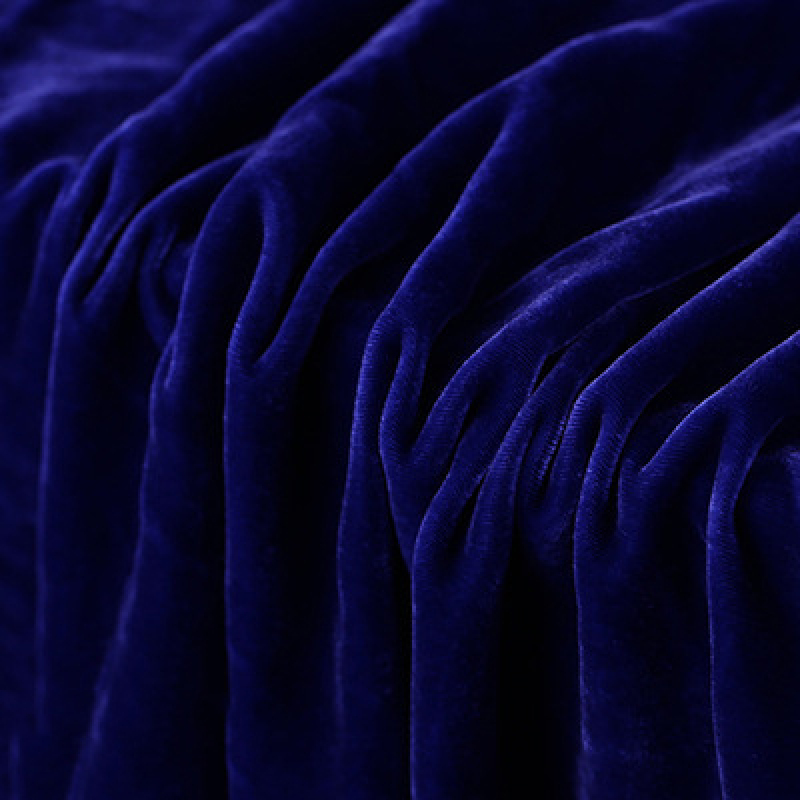Breathable Soft 100% Silk Velvet Fabric For Dress