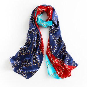 Low Price Women Printing 100% Pure Silk Satin Scarves