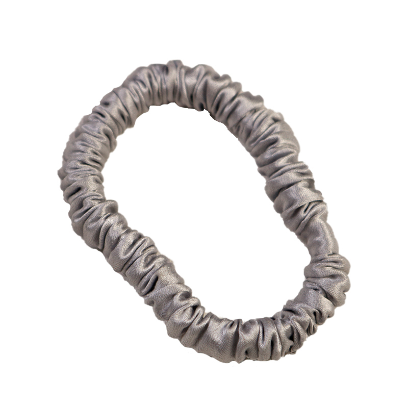 100% Silk Skinny Scrunchies