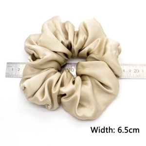Silk Scrunchies Hair Elastic Hair Bands, Premium Scrunchy Hair Ties Ponytail Holder