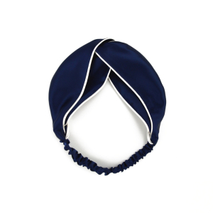 Solid Color Hairband Twisted Silk Satin Hair Bands