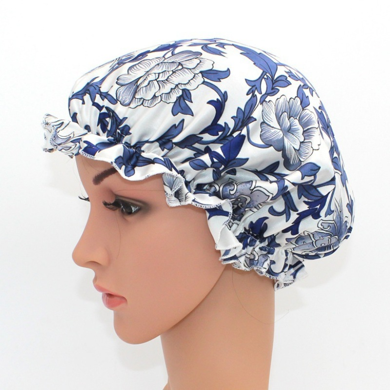 Soft Comfortable Silk Night Cap For Curly Hair