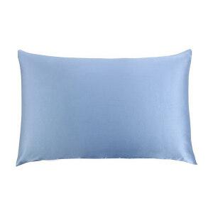 Luxurious 100% Mulberry Real Silk Pillowcase Hidden Zipper 19mm Satin Pillow Case Cover