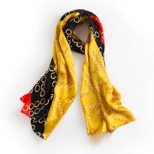 Soft Women 12mm Silk Satin Head Scarf Wrap