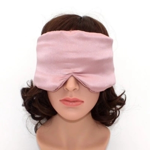 Mulberry Silk Super Soft  Smooth Ultra Large Size Protect Ear Eye Cover Travel Sleeping Mask