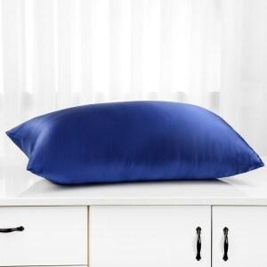 Envelope Look Natural Custom 19mm 100% Mulberry Silk Black Pillow Case Cover