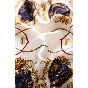 Fashion Long Satin Shawls Women Silk Scarf
