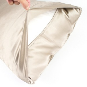 New Envelope Wholesale 16mm 100% Pure Mulberry Silk Pillowcases Soft Satin Pillow Case