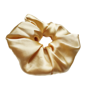 Non-toxic Large Oversized Pure Silk Hair Scrunchie