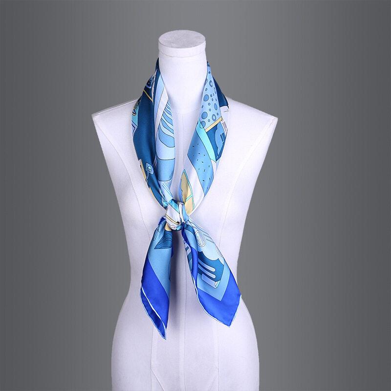 90cm*90cm 14mm 100% Silk Twill Scarves