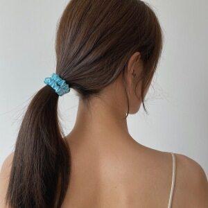 Women Silk Hair Scrunchies Sets