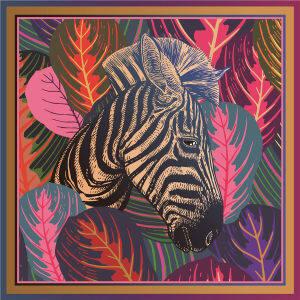 Custom Scarves Pattern-Zebra