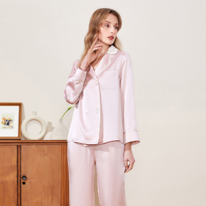 Washable 19 Momme Mulberry 100% Silk Sleep wear for Skin and Sleep