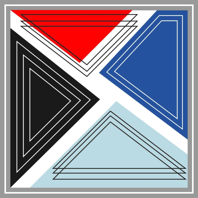 Custom Scarves Pattern-Geometry