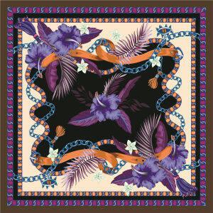 Custom Scarves Pattern-Floral