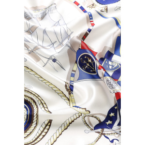 Women Ladies Silk Satin Square Scarf