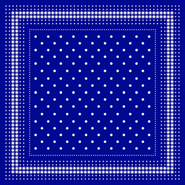 Custom Scarves Pattern-Polka Dot