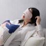 Velvet Silk Sleep Mask With Pouch