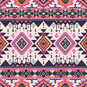 Custom Fabrics Pattern-Abstract Geometric