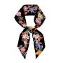 Floral Design 16 Momme Silk Twill Scarf