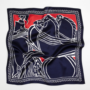 No MOQ Ladies 100% Silk Satin Scarf
