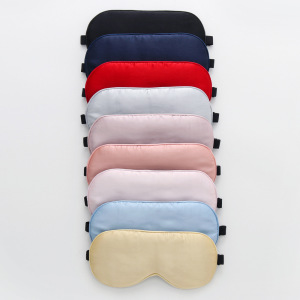 Wholesale Colorful Silk Eye Mask