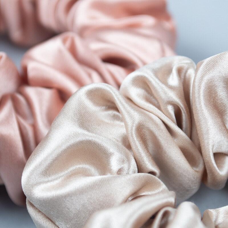 22 Momme Silk Hair Scrunchies- 3.5cm Width