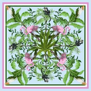 Custom Scarves Pattern-Flamingo