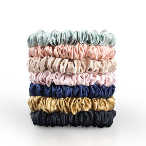 22 Momme Silk Hair Scrunchies- 1cm Width