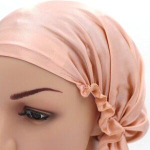 Concise Style Silk Night Sleep Hat