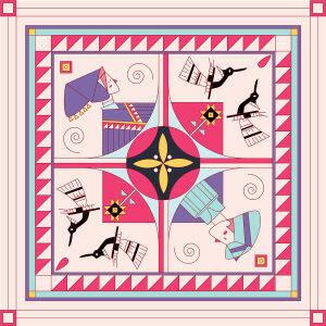 Custom Scarves Pattern-Lovers