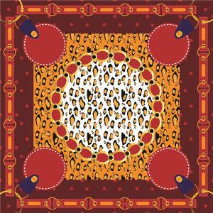 Custom Scarves Pattern-Leopard