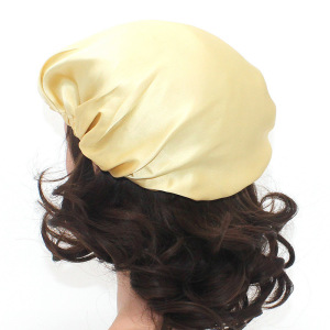 Wholesale Bulk Classic 100 Pure Silk Bonnets For Curly Hair