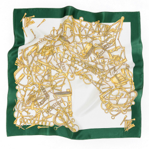 Woman Mulberry 53*53cm Luxury Silk Square Scarf