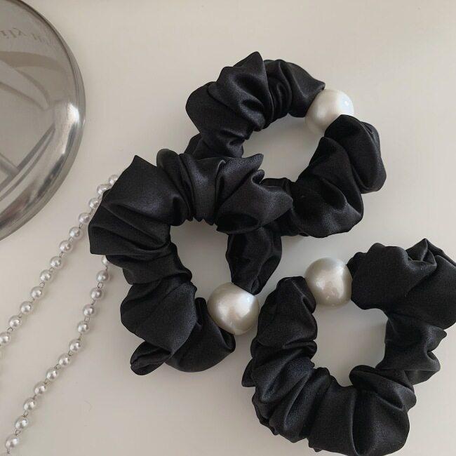 19 Momme Silk Hair Scrunchies- 3cm Width