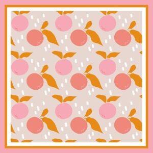 Custom Scarves Pattern-Fruit
