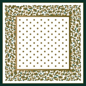 Custom Scarves Pattern-Polka Dot