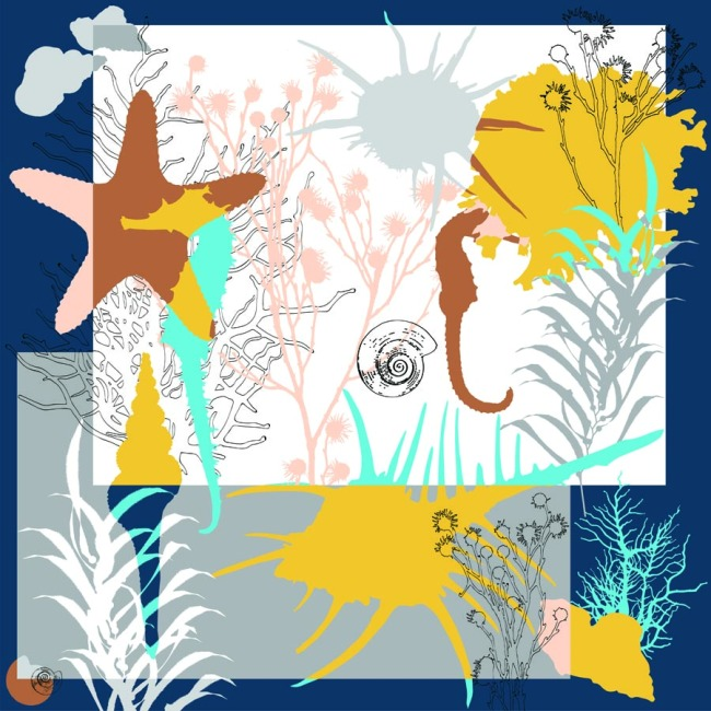 Custom Scarves Pattern-Animals and Plants